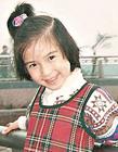 杨颖童年照,杨颖小时候照片