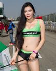 广东珠海国际车赛性感赛车女郎