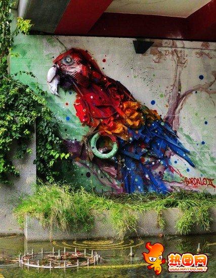 街头涂鸦文化