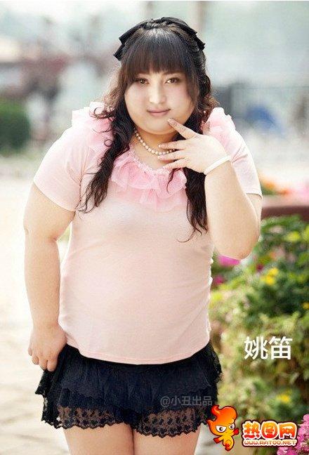 女明星变胖