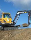 挖掘机搞笑gif 蓝翔挖掘机动态图片