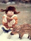小孩和动物
