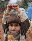 战争中的儿童图片