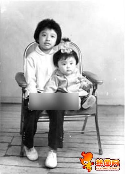 韩红年轻时候的照片