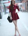 世界上腿最长的女人 中国腿最长的美女