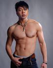 杜海涛肌肉照