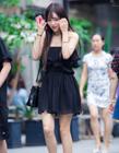 街拍上海时尚靓女