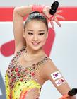 孙妍在韩国2015光州大运会艺术体操比赛夺冠