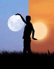 月亮创意图片