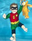 儿童水下摄影