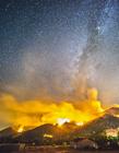 美国加州火山