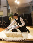 日本殡葬博览会现场演示入殓仪式