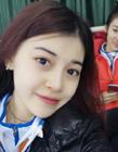 冬运会冰壶女神李博雅照片 白山队三垒李博雅