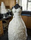 婚纱蛋糕图片