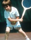 网球明星童年照