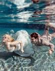 水下婚纱摄影图片