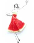 果蔬做的时装秀 果蔬时装秀