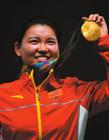 中国国家队女子射击运动员张梦雪 里约奥运会中国首金