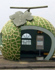 创意公交车站设计