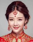 中式新娘发型图片 中式婚礼新娘发型