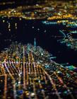 纽约航拍夜景 纽约夜景图片