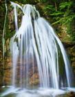 高清山水瀑布风景图片 瀑布的图片