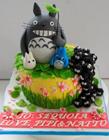 龙猫蛋糕图片