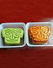 中秋节的创意月饼图片 青铜面具月饼