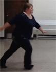 女胖子坐滑梯搞笑视频 女胖子飞出去搞笑视频