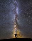 银河系拍摄 单反拍银河系