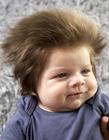 宝宝蓬松头发