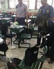 台湾高中生带土制手榴弹上课