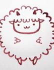 怎么画卡通绵羊 最可爱的小羊怎么画的