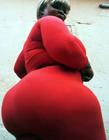 西非最大巨臀 西非巨臀女子
