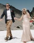 雪山婚纱照