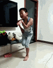 广场舞王子妖娆舞姿