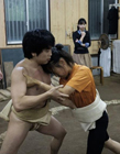 狂野变态的日本女子相扑 实拍日本女子玩相扑