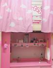 大学女生寝室装扮 粉色主题寝室装扮图片