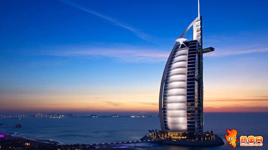 阿联酋迪拜风景图片