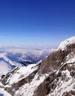 阿尔卑斯山雪景