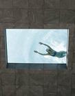 透明玻璃游泳池 空中透明游泳池
