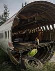 泰国废弃的飞机 飞机改装成房子