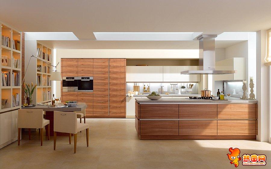 豪华大型厨房图片