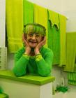 美国女子痴迷绿色20年 喜欢绿色的人