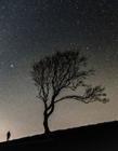 夜空中的繁星