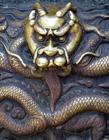龙的雕刻图片