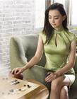 中国围棋美女黑嘉嘉 黑嘉嘉最漂亮的图片