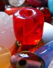 琉璃珠子图片手链