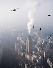 法国大巴黎雾霾图片 巴黎雾霾图片大全