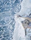 青海湖冬季结冰照片 青海湖冬天结冰吗